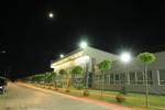 UBT Innovation Campus, at night by University for Business and Technology